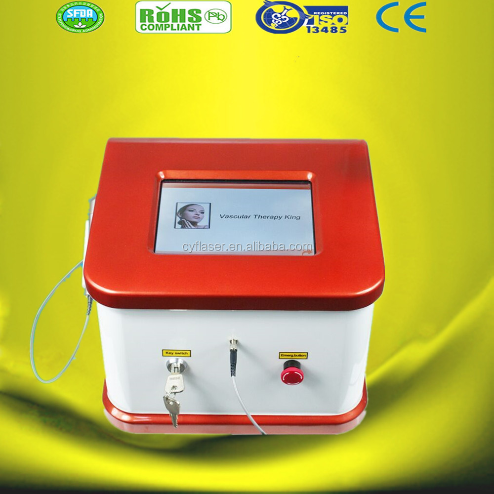 2016 Cheapest 980nm diode laser touch screen Vascular Removal / High Frequency Spider Vein Removal Machine