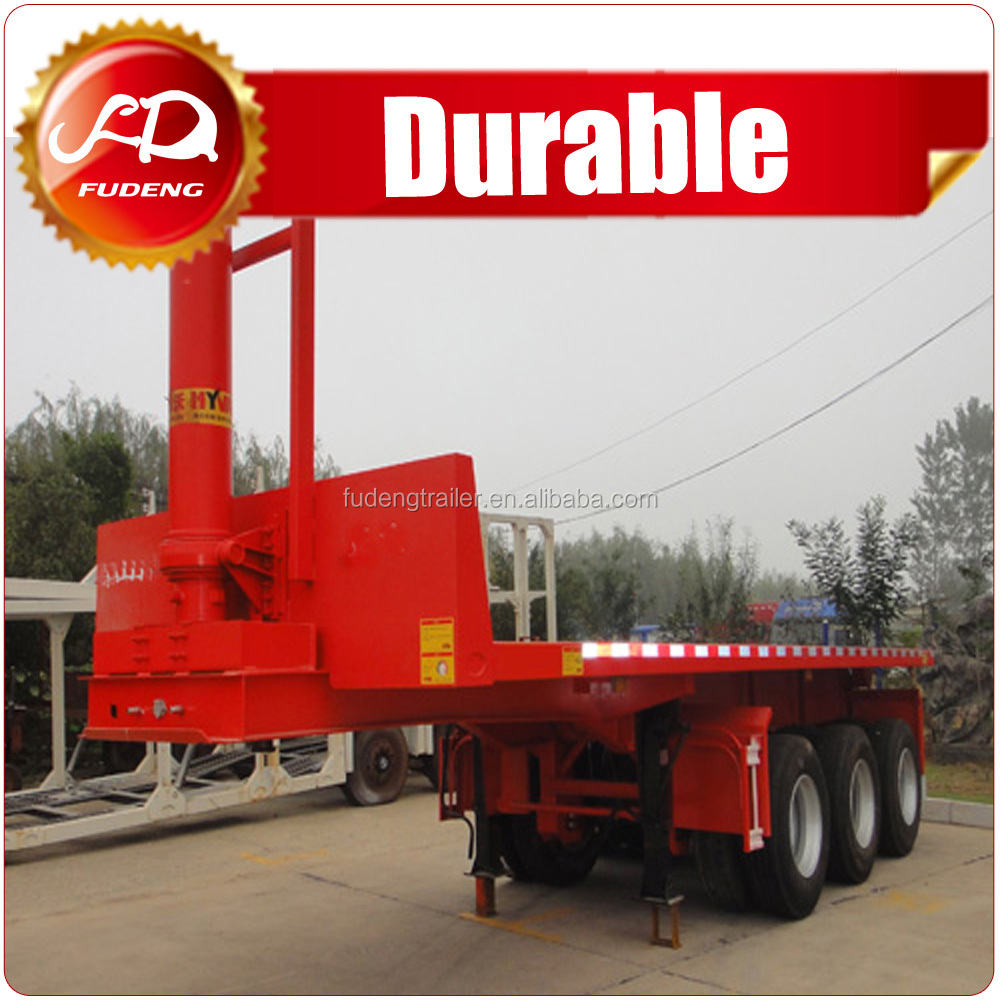 40ft container tilter chasis with hydraulic cylinder for sale