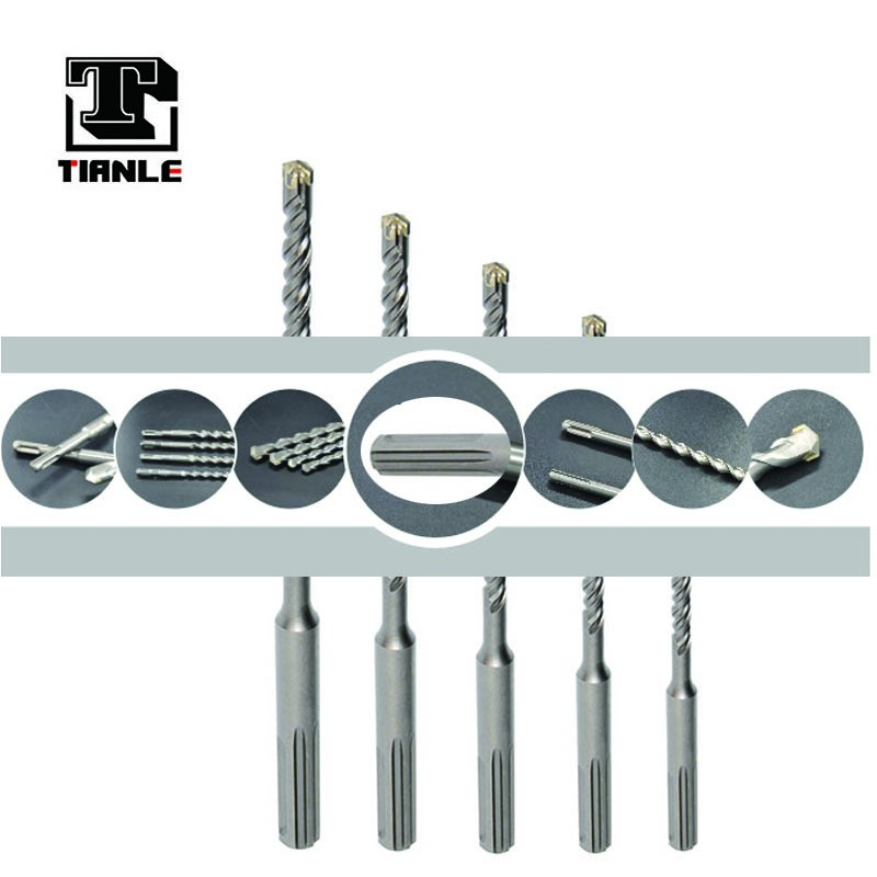 TIANLE Max hammer drill bits with tungsten carbide tipped with cross tip