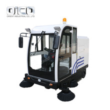 E800LD Floor Clean Vacuum Road Sweeper Battery Operated Sweeper Ride On Vacuum Cleaner