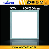 Worbest ceiling led panel light 50W 24x24 dimmer chinese products UL/DLC listed