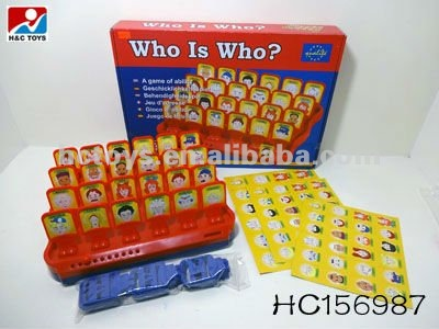 Guess Game Who Is Who HC156987