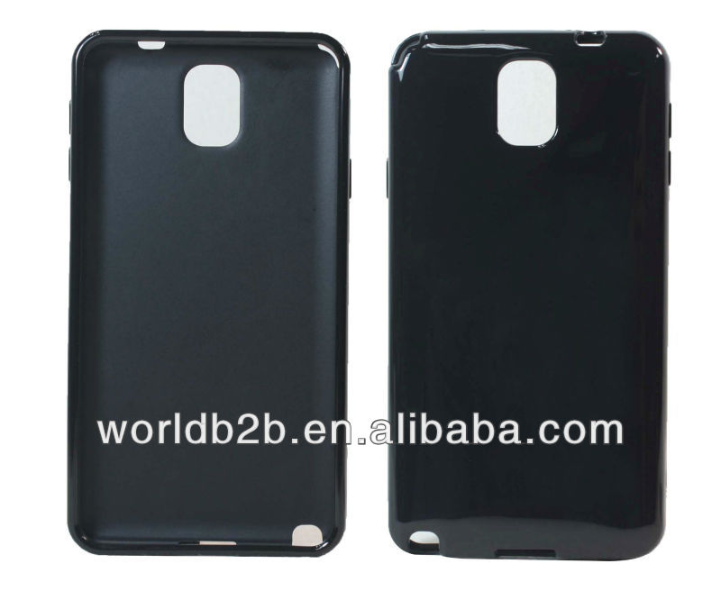 Solid Color TPU Gel Case Cover for Samsung Galaxy Note 3