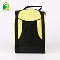 Portable Waterproof 600D polyester Travel Shoe Bags with Zipper Closure