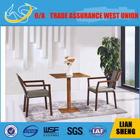 Hot sale small solid wood frame dining table