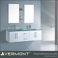 Double Sinks Modern Bathroom Vanity