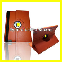Rotating leather Case for iPad 4 3 2 with Magnetic Swivel Stand
