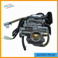 High quality hot sale 24mm pd24j motorcycle carburetor GY6 150CC