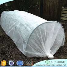 Agriculture PP Spunbond Non woven Black Mulching Film/Weed Control Fabric/Black Ground Cover