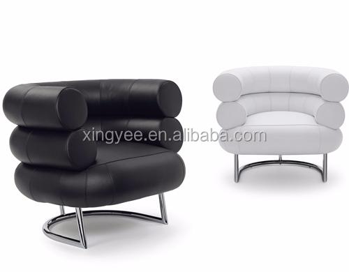 Mobiliario moderno sal n sill n cromado acero inoxidable for Mobiliario salon moderno