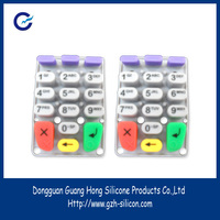 Customized silicon handphone keypad