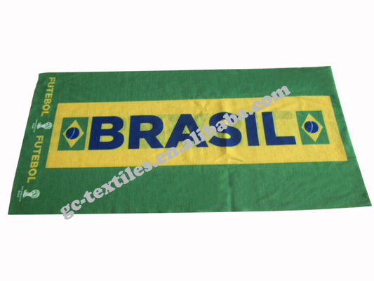 Multifunctional Printed Seamless Tube Bandana for 2014 world cup in Brazil