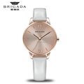 Design your own watch women watch, stainless steel back quartz leather strap watch for women