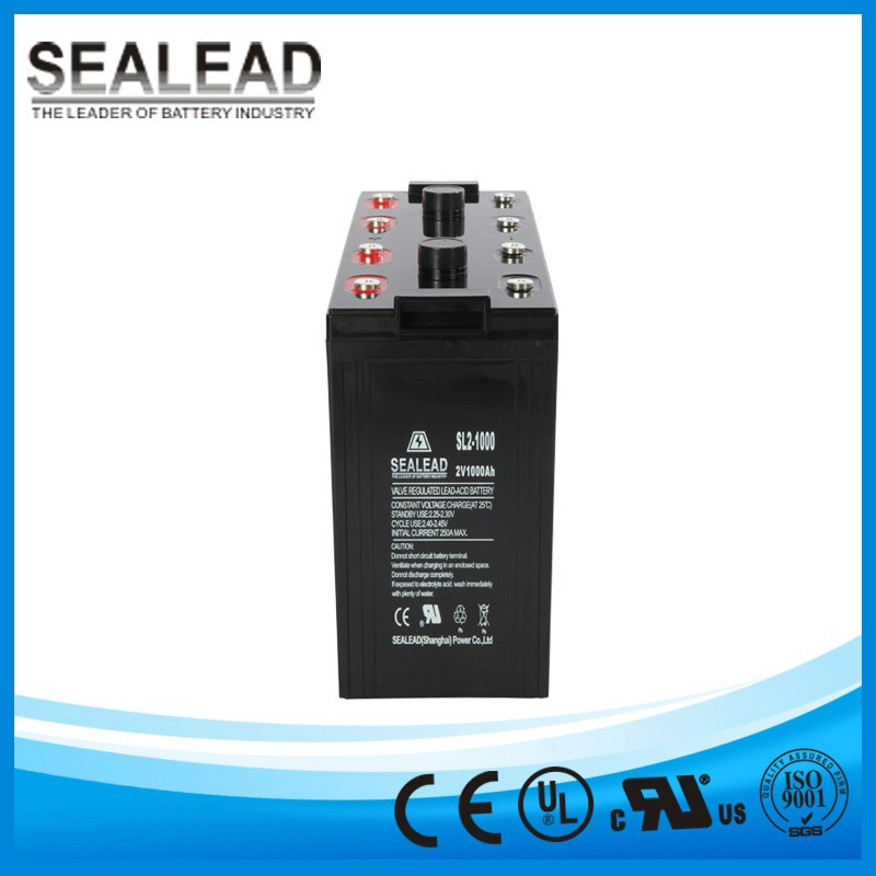 2V 1000AH stationary gel battery for hydro power system solar street light battery SLA lead acid batteries 12v 6v 4v 800ah