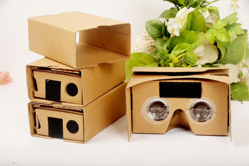 Google Cardboard 2.0 3D glasess ,the virtual reality shows