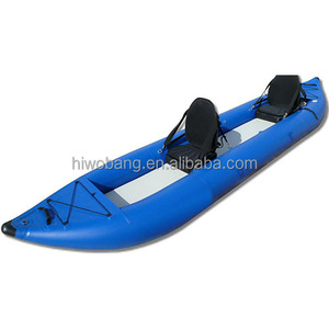 420cm 2 Person Inflatable PVC Kayak