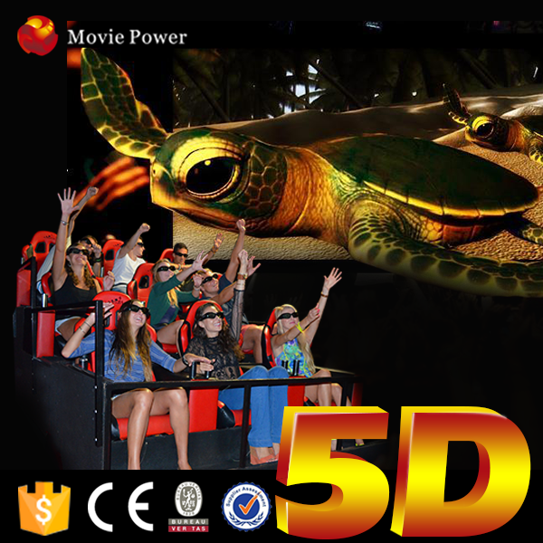 luxury invention hot sale 5d cinema house