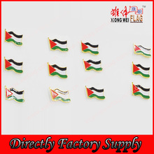 High Quality 3D Enamel Palestine National Flag Badge Pin