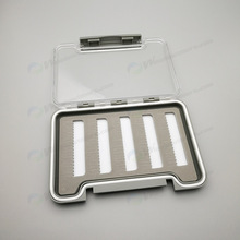 high quality fly fishing box , Clear plastic slim fishing box for fly fishing