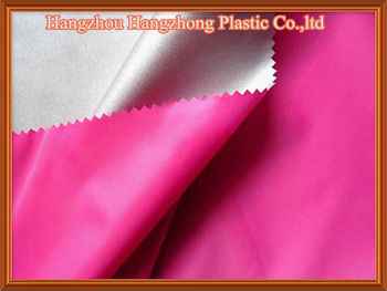 190T Polyester Taffeta Waterproof With PU Coating
