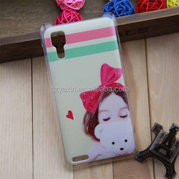 Cute Cartoon Hard Shell Printed Cover Case for Lenovo p780