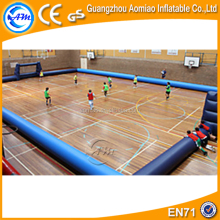 Outdoor Inflatable Soap Soccer Field Football Playground For Inflatable Sports Games