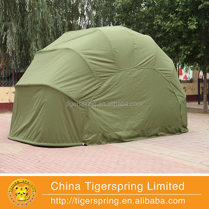 Outdoor automatic folding waterproof portable car cover storage tent