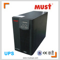 20v 50/60Hz 1KVA 2KVA 3KVA single phase High frequency online ups / uninterrupted power supply