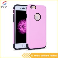 Factory price colorful mobile phone protector case for iphone 6