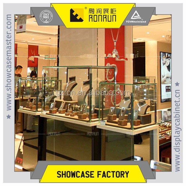 Names of Hongkong brand jewelry display furniture , jewelry display showcase and counter,used jewelry showcase for sales