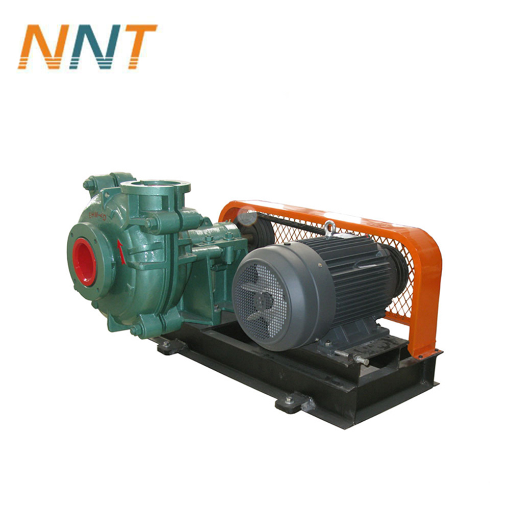 Industrial processing cast iron pump slurry pump with A05 or rubber wet parts