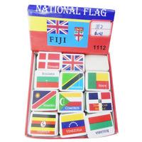 3160227-35 national flag eraser/correction supplies eraser