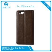 Luxury Color Wallet Case For apple iphone 6 6s Leather Phone Case With ID Card Holder Flip Stand