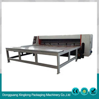 High quality cardboard semi automatic creasing die-cutting machine