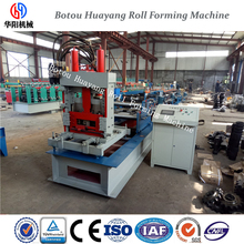 Botou Huayang full automatic cut to length c purlin machine