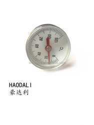 temperature gauge exact industrial bourdon tube