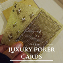 Cheap Customized Engraved Blank Metal Poker And Business Gold Card