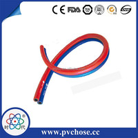6mm 9mm pvc and rubber Oxyen Acetylene twin hose,pvc and rubber mono-hose,green and red twin welding hose for air