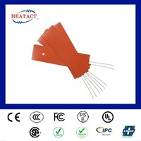Taiwan cusotmized Flexible Material Silicone Rubber Heater Bed