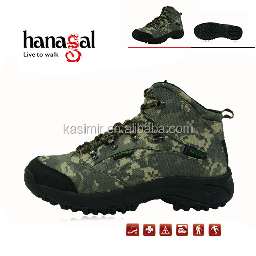 New arrival camouflage waterproof hunting boots