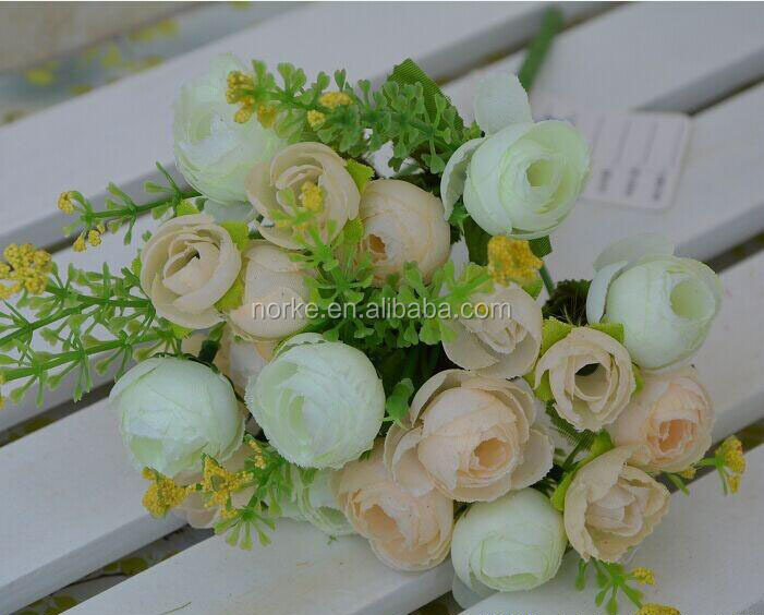fabric artificial flower bunch