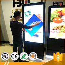 55 inch wireless wifi totem,Android Touch Screen Digital Signage, 1080P Digital commercial kiosk advertising machine