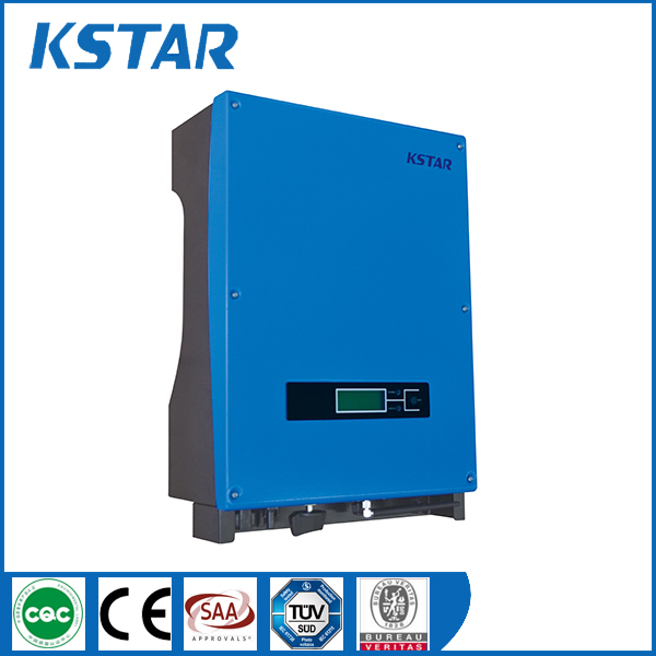 factory price hot in India dc to ac solar inverter 5kw with 2 mppt controller