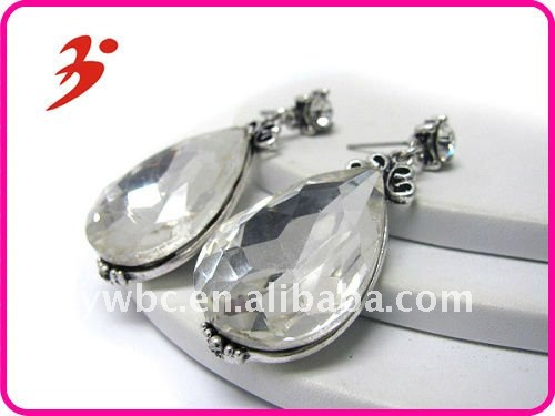 crystal wholesale fashion gold earrings 2012 new design(E100742)