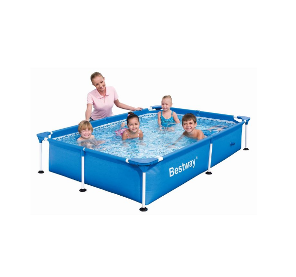Bestway 56401PVC Inflatable family metal frame steel wall Swimming Pool