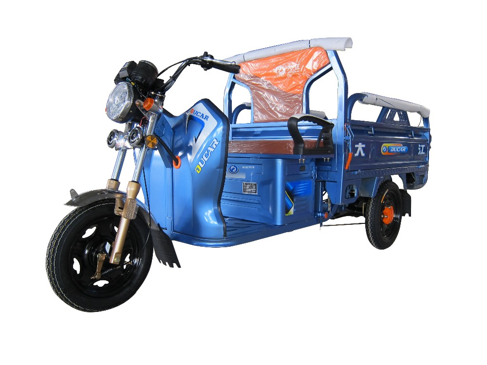 China hot sale good quality open type Duacar FeinYing NO5 electric tricycle tuk tuk for cargo use