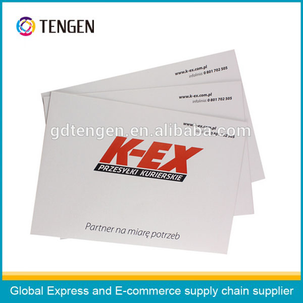 High quality custom cardboard envelope printin En125