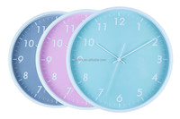 contracted plastic wall clock