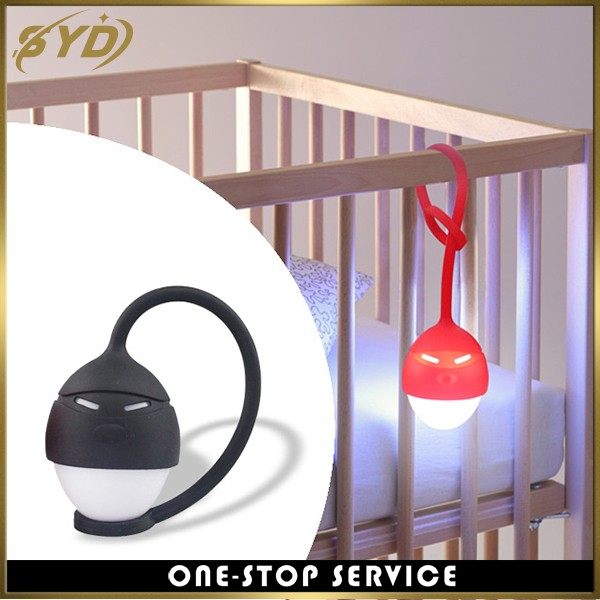 Creative design portable usb rechargeable silicone night light
