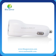2013 New Design Multi-function Car Charger for iphone/SAM/smart phones , Dual USB Car Charger 5v 2000ma